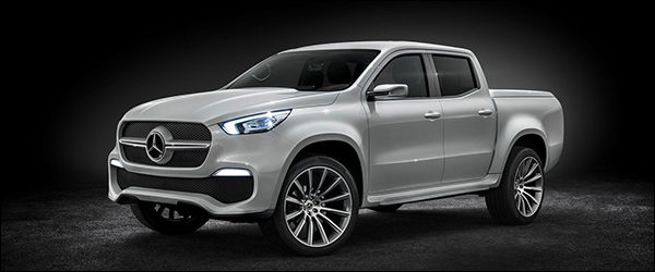 Officieel: Mercedes X-Klasse Concept [premium pick-up!]
