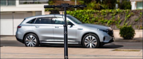 Officieel: Mercedes eScooter elektrische step EV (2020)