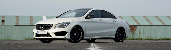 Mercedes CLA 220 test