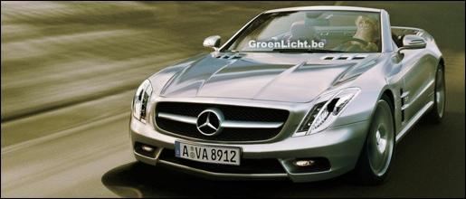 Mercedes SL Impressie