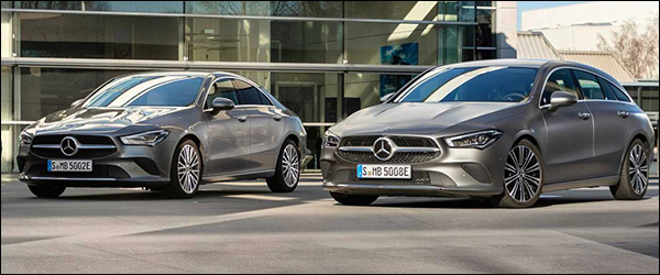 Officieel: Mercedes CLA250e plug-in hybride (2020)
