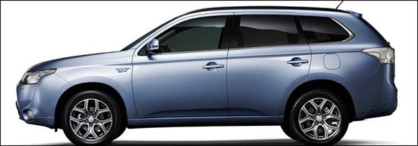 Succesvol: Mitsubishi Outlander PHEV