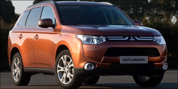 Mitsubishi Outlander eerste foto