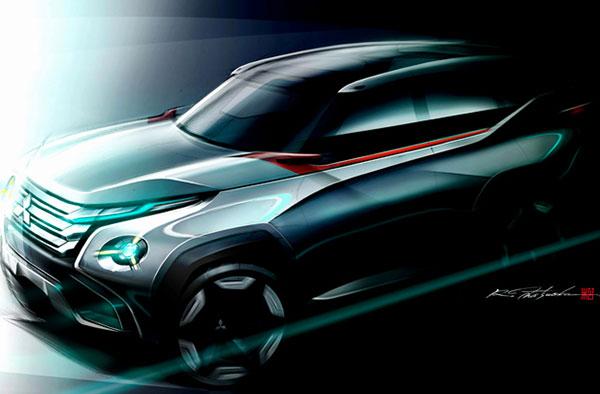 Mitsubishi en de 3 concepten op het autosalon van Tokyo