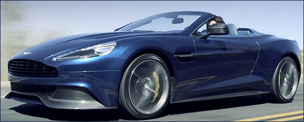 Aston Martin Vanquish Volante - Neiman Marcus