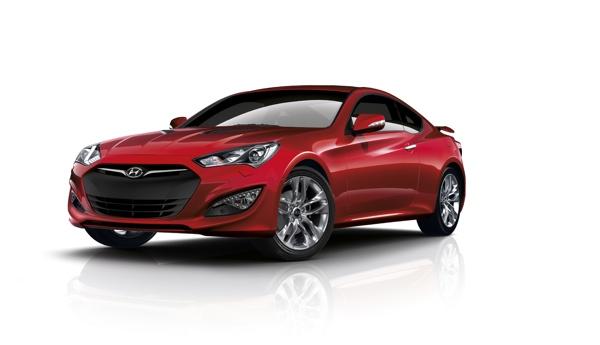 New Hyundai Genesis Coupe 2012