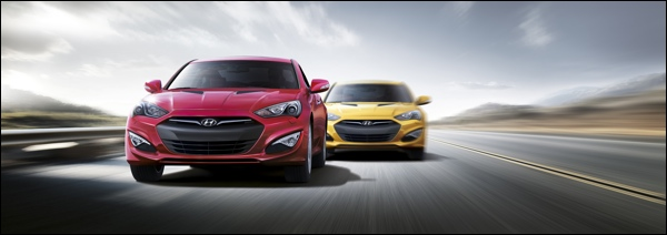 New Hyundai Genesis Coupe