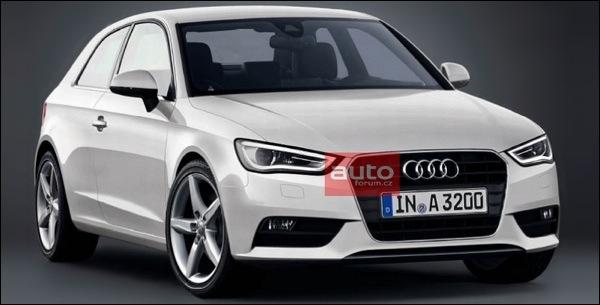 Nieuwe Audi A3 Gelekt 2012