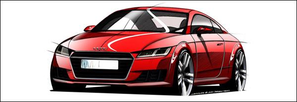 Nieuwe Audi TT 2015 - Geneve 2014
