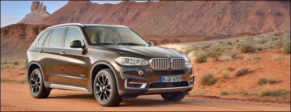 Nieuwe BMW X5 2013