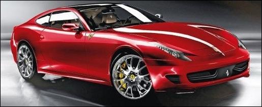 Nieuwe Ferrari 612 Scaglietti