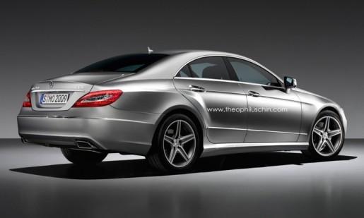 Nieuwe Mercedes CLS Impressie