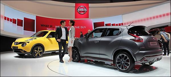 Nieuwe Nissan Juke - Autosalon Geneve 2014 Live