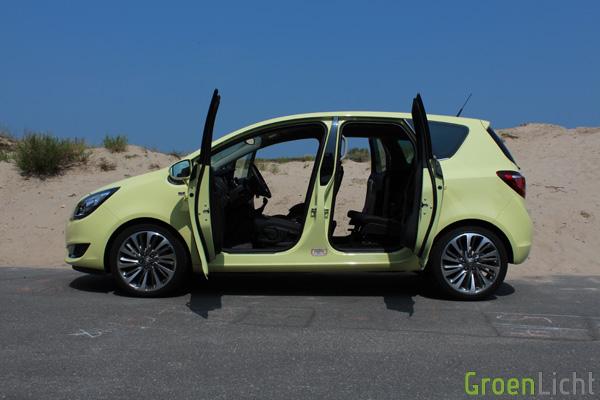 Nieuwe Opel Meriva CDTi - Rijtest 10