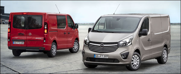Nieuwe Opel Vivaro 2014
