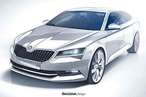 Nieuwe Skoda Superb 2015