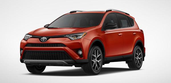 Nieuwe Toyota RAV4 2016