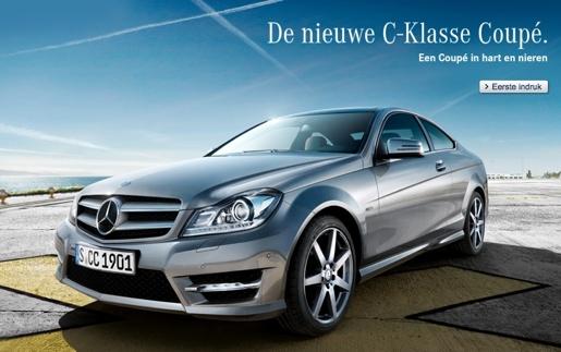 Nieuwe generatie C-Klasse coupe
