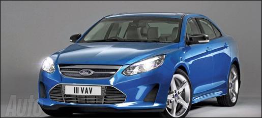 Nieuwe Ford mondeo