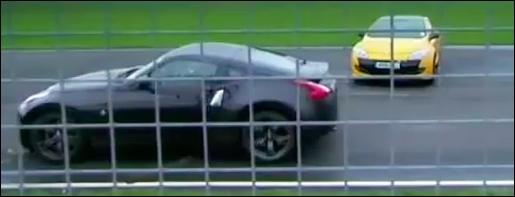 Nissan 370Z vs Megane coupe RS Trophy