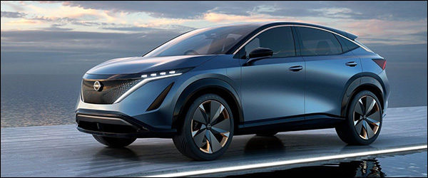 Officieel: Nissan Ariya Concept EV (2019)