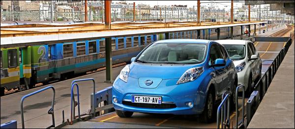 Nissan Leaf SNCF