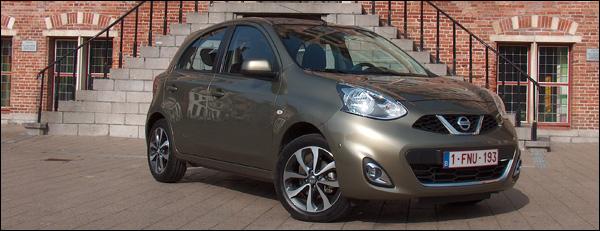 Nissan Micra DIG-S 2014 - Header
