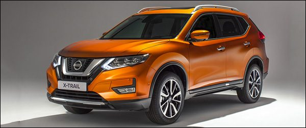 Officieel: Nissan X-Trail facelift (2017)
