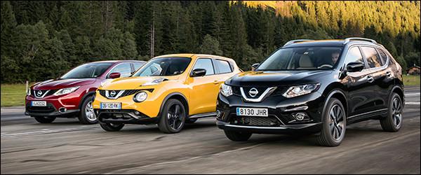 Reportage: Nissan Crossovers [Qashqai + X-Trail + Juke]