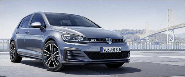 Officieel: Volkswagen Golf GTD facelift (2017)