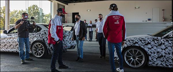 Alfa Romeo F1 piloten helpen bij de ontwikkeling van de Alfa Romeo Giulia GTA en GTAm (2020)