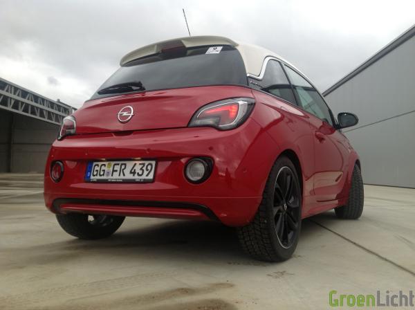 Rijtest Opel Adam