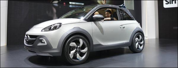 Opel Adam Rocks Concept - Adam Cabrio Geneve 2014
