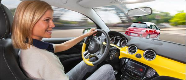Opel Adam Siri Eyes Free