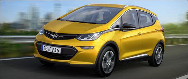 Officieel: Opel Ampera-e