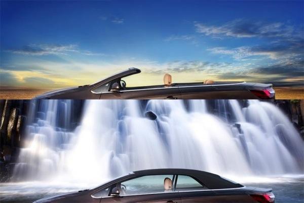 Opel Astra Cabrio teaser