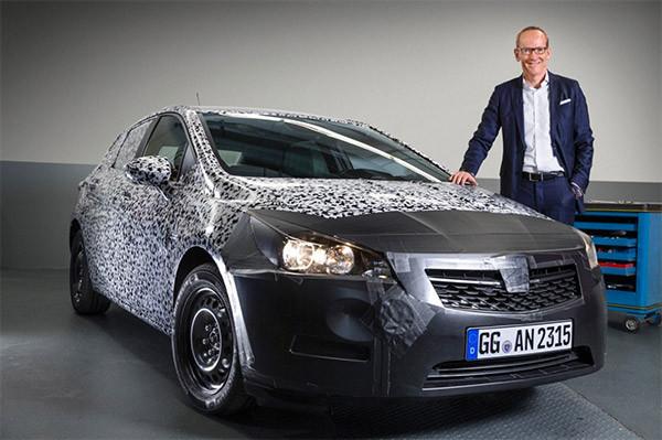 Nieuwe Opel Astra wordt voorgesteld in Frankfurt