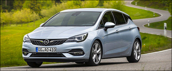 Officieel: Opel Astra facelift (2019)