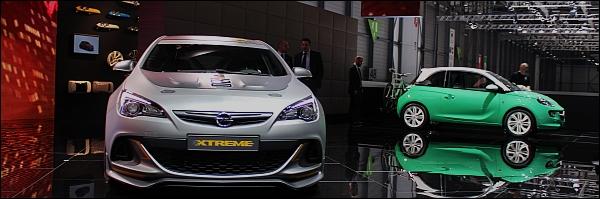 Opel - Autosalon Geneve 2014 - Live