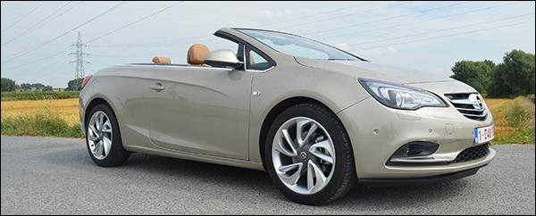 Rijtest Opel Cascada