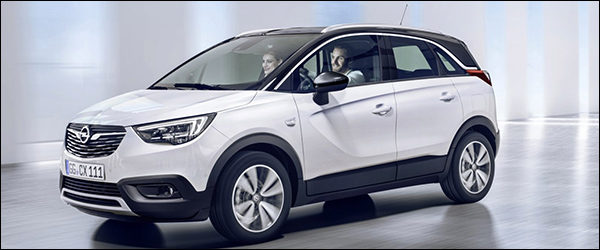 Officieel: Opel Crossland X (2017)