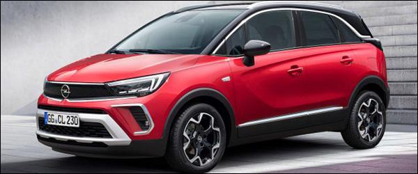 Officieel: Opel Crossland facelift (2020)