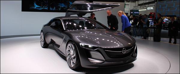 Opel - Frankfurt 2013 - Opel Monza Concept