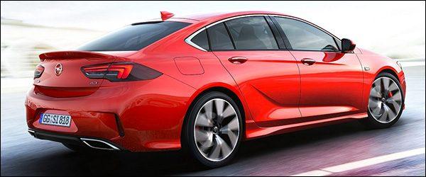 Officieel: Opel Insignia GSi topversie (2017)