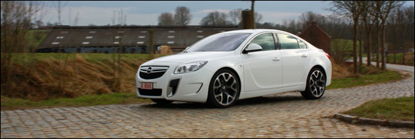 Opel Insignia OPC GroenLicht