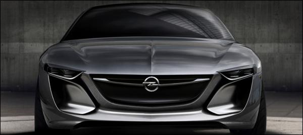 Opel Monza Concept Frankfurt 2013