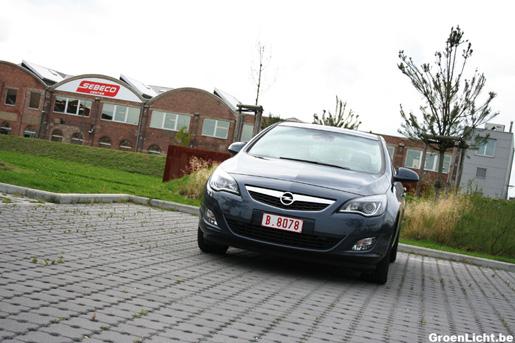 Opel Astra rijtest