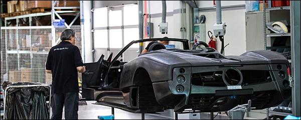 De Pagani Zonda 760 Roadster is bijna klaar