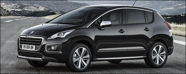 Peugeot 3008 facelift 2014