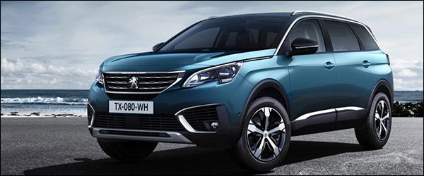 Officieel: Peugeot 5008 SUV / Crossover (2016)